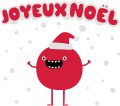 Motif Monstre de Noël