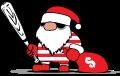 Motif Méchant Père Noël