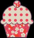 Motif Cupcake