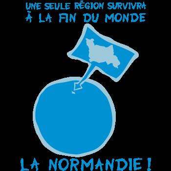 T-Shirt Normandy world end area 21 Dec. 12<br />imprimer sur un tee shirt