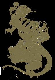T-Shirt kinglizard logo tatoo color<br />imprimer sur un tee shirt