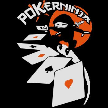 T-Shirt Poker ninja flex ok<br />imprimer sur un tee shirt