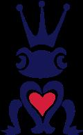 Motif Coeur de grenouille