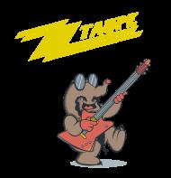 T-Shirt ZZ Taupe<br />imprimer sur un tee shirt