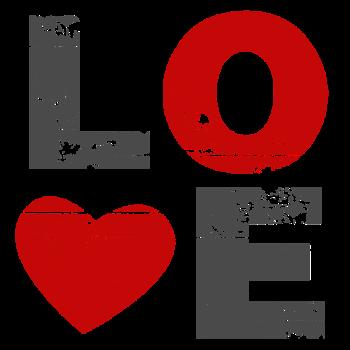 T-Shirt Love Vintage Valentines Day<br />imprimer sur un tee shirt