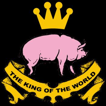 T-Shirt king of the world<br />imprimer sur un tee shirt