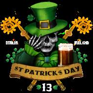 T-Shirt stpatrick green beer day<br />imprimer sur un tee shirt