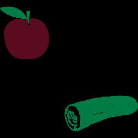 Obst ist auch nur süßes Gemüse auf dein T-Shirt