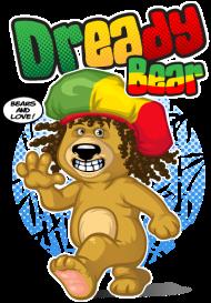 T-Shirt Dready bear<br />imprimer sur un tee shirt