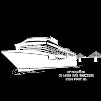 T-Shirt st nazaire bateau fort<br />imprimer sur un tee shirt