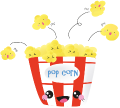 Motif Pop-corn