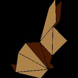 Origami: Häschen