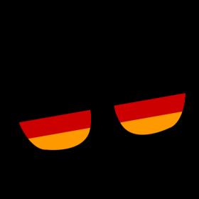 Deutschland Brille auf dein T-Shirt