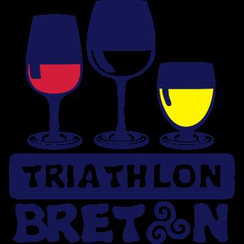 T-Shirt triathlon Breton acme glass aperture Humo<br />imprimer sur un tee shirt