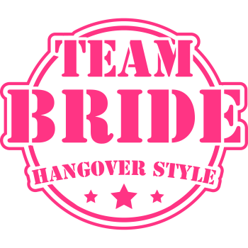 T-Shirt team_bride_hangover_cx2<br />imprimer sur un tee shirt