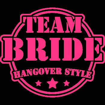 T-Shirt team_bride_hangover_cx2<br />imprimer sur un tee shirt