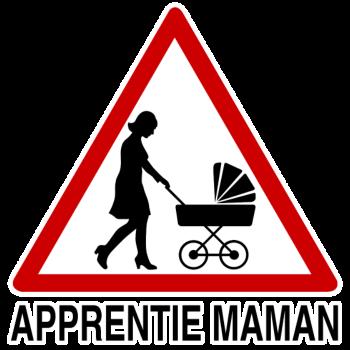 T-Shirt apprentie maman<br />imprimer sur un tee shirt