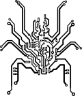 Motif Araignée bionique