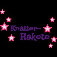Knatter-Rakete mit Sternchen für Windelpupser