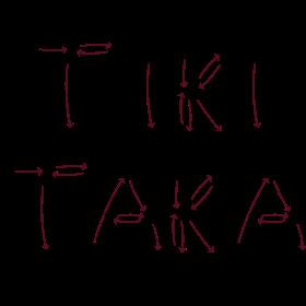 Tiki Taka Spielzüge auf dein T-Shirt