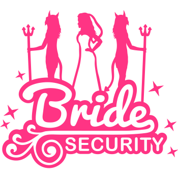 T-Shirt bride_security_2_f1<br />imprimer sur un tee shirt