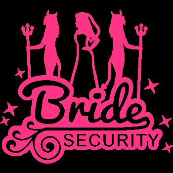 T-Shirt bride_security_2_f1<br />imprimer sur un tee shirt
