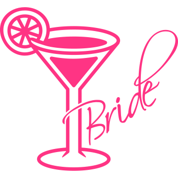T-Shirt Bride Cocktail<br />imprimer sur un tee shirt