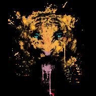 T-Shirt tigre rugissant<br />imprimer sur un tee shirt