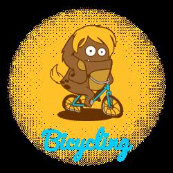 Die Digi-Fitties: Fahrradfahren