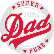 100 percent PURE SUPER DAD 2C