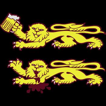 T-Shirt lion beer normandy<br />imprimer sur un tee shirt