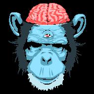 T-Shirt Cerveau de chimpanzé<br />imprimer sur un tee shirt
