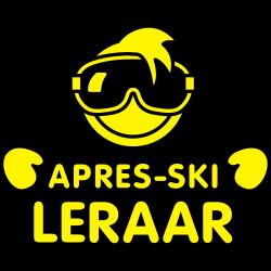 Apres-ski leraar cool