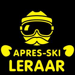 Apres-ski leraar snor