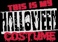 T-Shirt This is my halloween costume<br />imprimer sur un tee shirt