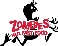 T-Shirt Zombies hate fast food<br />imprimer sur un tee shirt