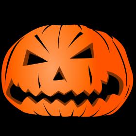 Halloween Kürbis Kopf auf dein T-Shirt