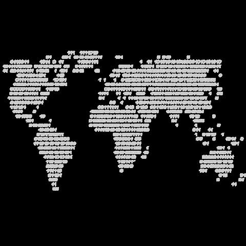 Weltcode Welt in Zahlen auf dein T-Shirt