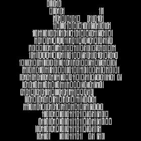 Deutschland als Binärcode auf dein T-Shirt