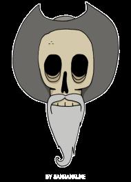 T-Shirt dead Don Quichotte<br />imprimer sur un tee shirt