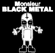 T-Shirt m black metal<br />imprimer sur un tee shirt