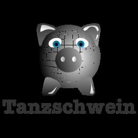 Disko Tanzschwein auf dein T-Shirt