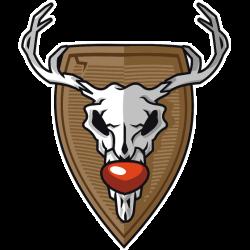 Weihnachten: der Schädel von Rudolph