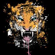 T-Shirt Dirty Tiger<br />imprimer sur un tee shirt