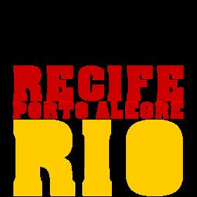 Spielorte Deutschland  Brasilien auf dein T-Shirt