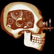 T-Shirt Robot Skull<br />personnalisation v&ecirc;tement
