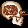 Motif Crâne automate