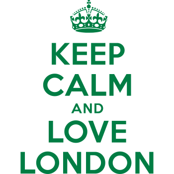 T-Shirt keep calm and love london<br />imprimer sur un tee shirt