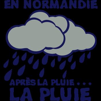 T-Shirt en normandie apres la pluie<br />imprimer sur un tee shirt