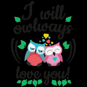 T-Shirt i will always<br />imprimer sur un tee shirt